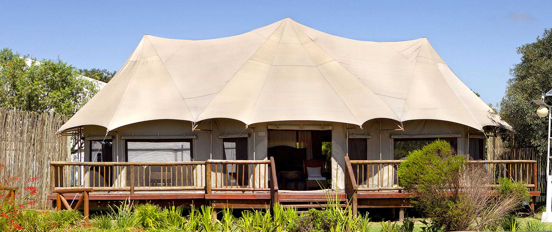Canvas Safari Tents Home