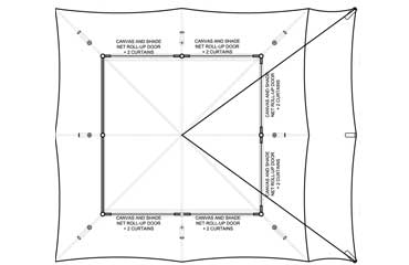 Cantina Canvas Tent Plan