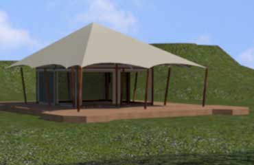 Cantina Canvas Tent