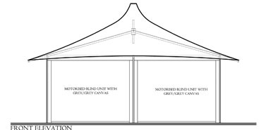 Coolabah Canvas Tent Front Elevation