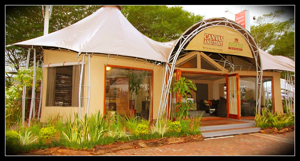 Canvas Tent Alfresco Villa & Elfresco Villa