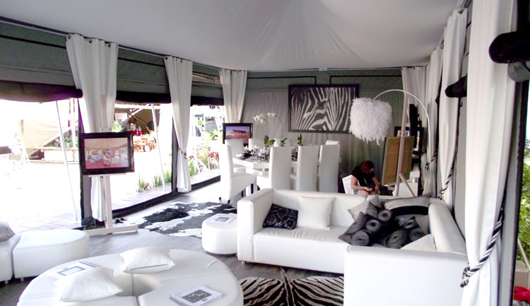 Hacienda Canvas Tent Interior