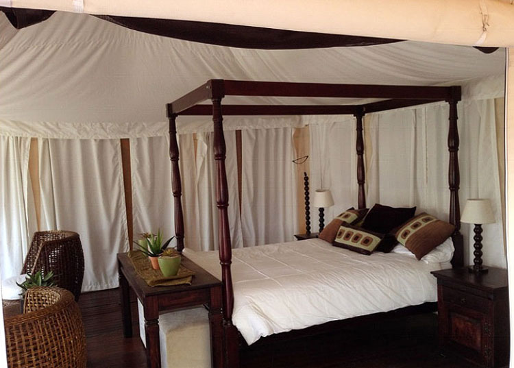 Canvas Tent Marrakesh Bedroom