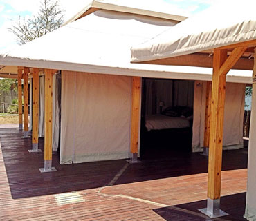 Canvas Tent Marrakesh Exterior View