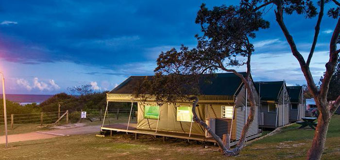 Canvas Tent Camp Serengeti